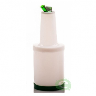 Store'n Pour & Dispenser ,Speed bottle 1 lt. Colore Verde