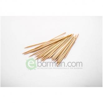 Decorazione Guarnizione ,Spiedini classici bamboo 15 cm conf. 200 pz