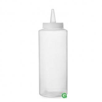 Store'n Pour & Dispenser ,Squeezer per sciroppi 36 cl trasparente