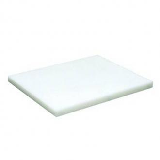 Decorazione Guarnizione ,Tagliere 24x15 cm in polietilene colore bianco