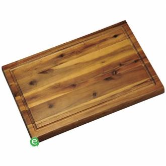 Accessori per Servizio Bar ,Tagliere in legno di acacia 32x21x1.5 cm