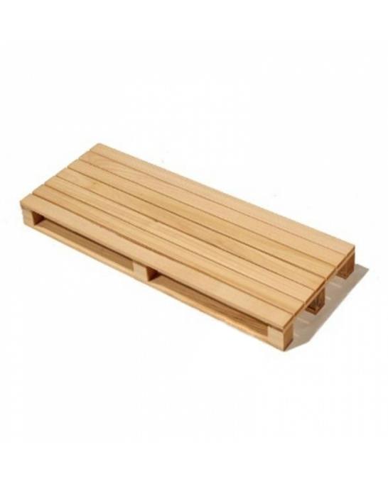Accessori per Servizio Bar ,Tagliere Pallet in legno di abete 40*15,2 h 3,5 cm