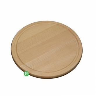 Accessori per Servizio Bar ,Tagliere rotondo in legno di faggio Ø 30 cm