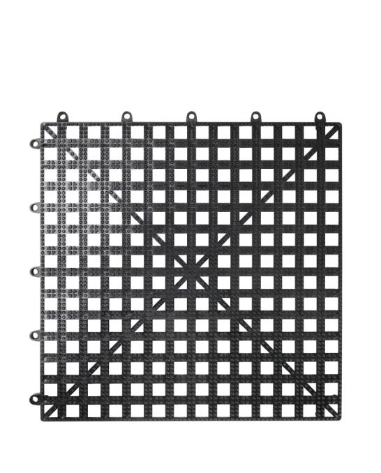 Bar Mat e Tappetini ,Tappetini sottobicchieri bar componibile 33 x 33 cm nero