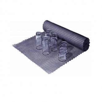 Bar Mat e Tappetini ,Tappetino sottobicchiere a rete nero Del 60cm x 2,5 mt