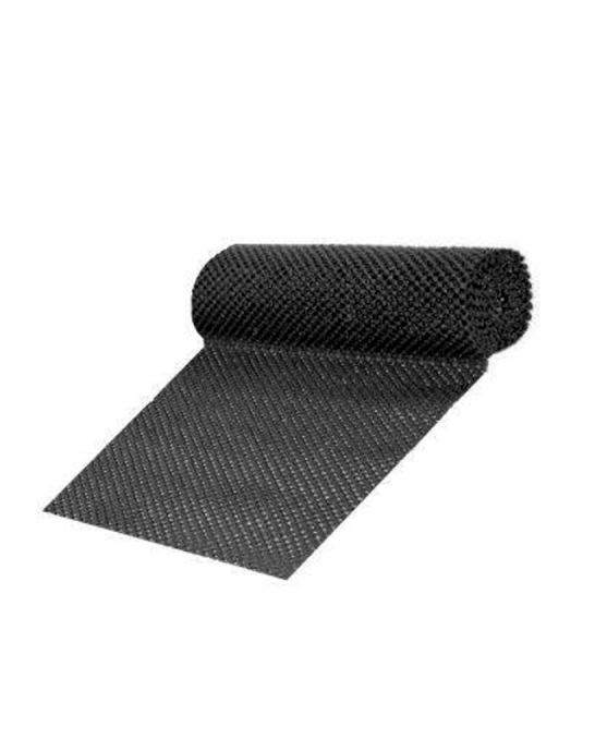 Bar Mat e Tappetini ,Tappetino sottobicchiere nero 43x150 cm