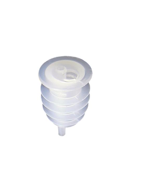 Metal Pourer ,Tappo controlla flussi in plastica conf. 12 pz