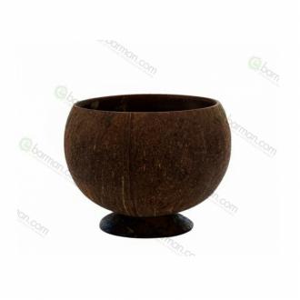 Mug,Tazza guscio di noce di Cocco naturale Tiki 30/50 cl
