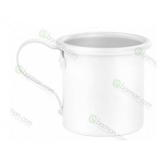 Mug,Tazza in alluminio 42.5 cl Bianco