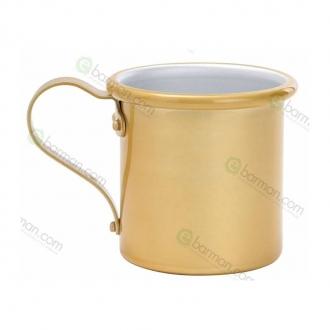Mug ,Tazza in alluminio 42.5 cl Oro Antico
