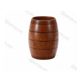 Mug ,Tazza Wooden in legno 27 cl