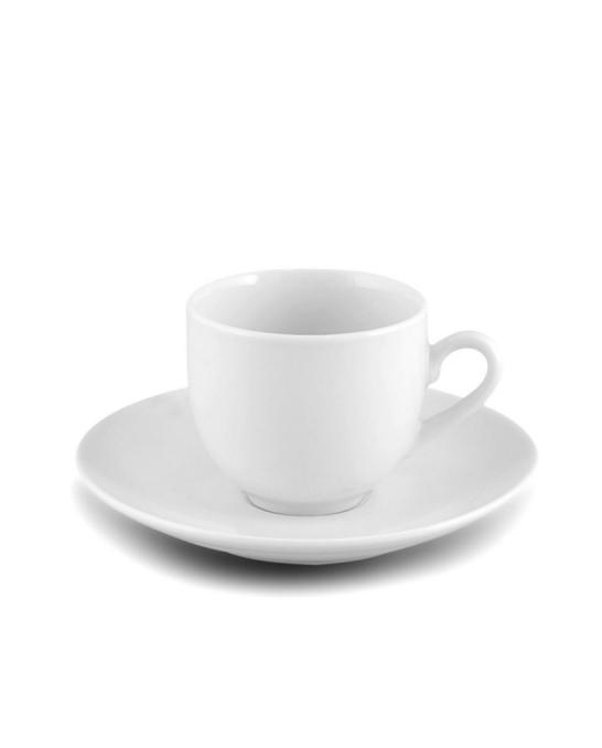 Caffetteria e Latte Art ,Tazzina per caffè con piattino 6pz