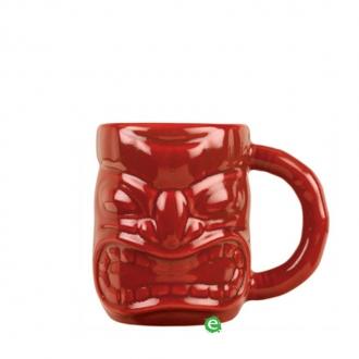 Mug,Tiki Mug con manico rossa 47.3 cl