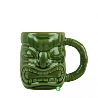 Mug ,Tiki Mug con manico verde 47.3 cl