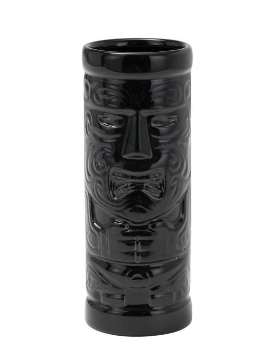 Mug ,Tiki mug Matira 45 cl Nero