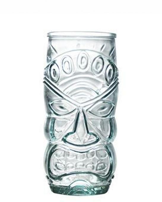 Bicchieri da Cocktail ,Tiki Mug San Miguel in vetro riciclato 55 cl