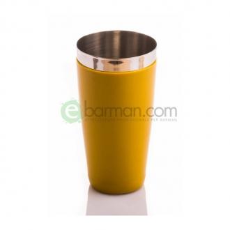 Shakers Boston ,Tin gommato Giallo 900 ml Piazza