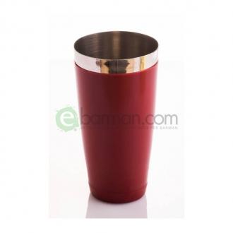 Shakers Boston ,Tin gommato Rosso 900 ml Piazza