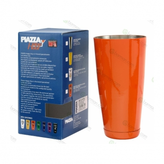Shakers Boston ,Tin wfa 900 ml Arancio lucido Piazza