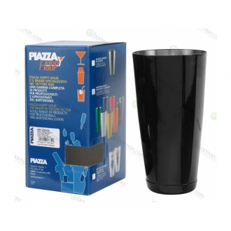Shakers Boston ,Tin wfa 900 ml Nero lucido Piazza