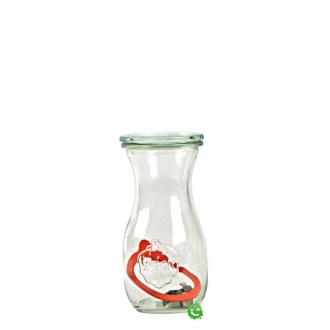 Decorazione Guarnizione ,Vasetto Tulip con tappo e chiusura ermetica 29 cl 6pz