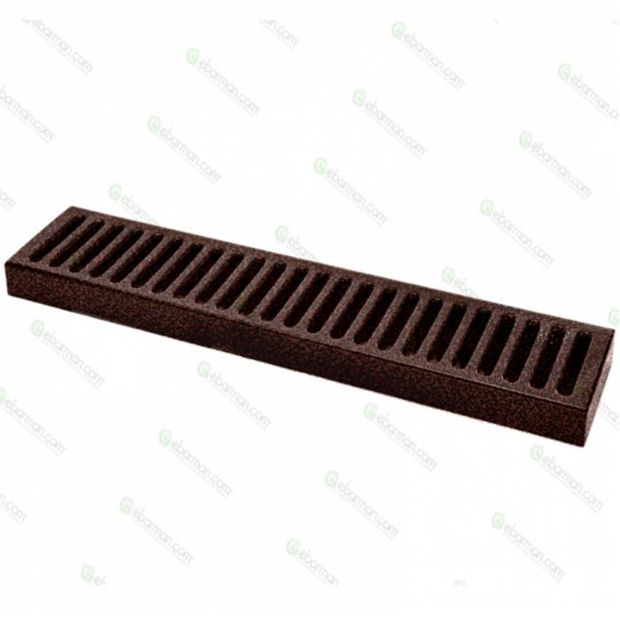 Bar Mat e Tappetini Bar mat in acciaio inox 18/9 Old Bronze 50x10,5 cm
