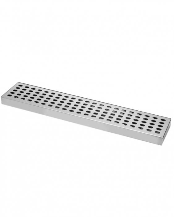Bar Mat e Tappetini Bar mat in acciaio inox ebarman MAC3 50x10.5 cm