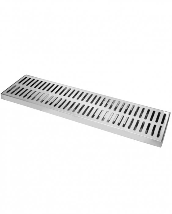 Bar Mat e Tappetini Bar mat in acciaio inox ebarman MAC5 Large Work 75x20 cm