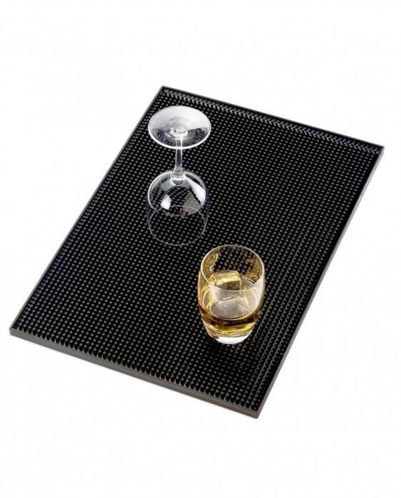 Bar Mat e Tappetini Bar Mat Large Nero 30x40 cm