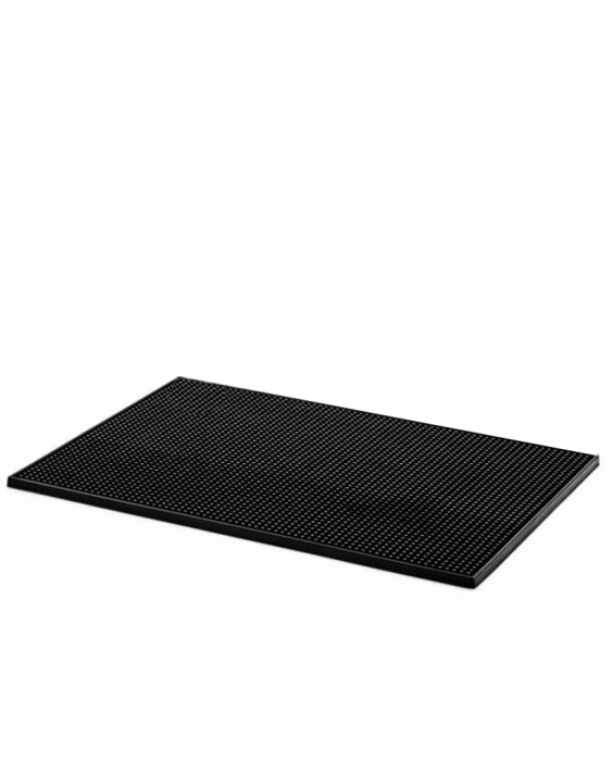 Bar Mat e Tappetini Bar Mat Large Nero 31,5x47 cm