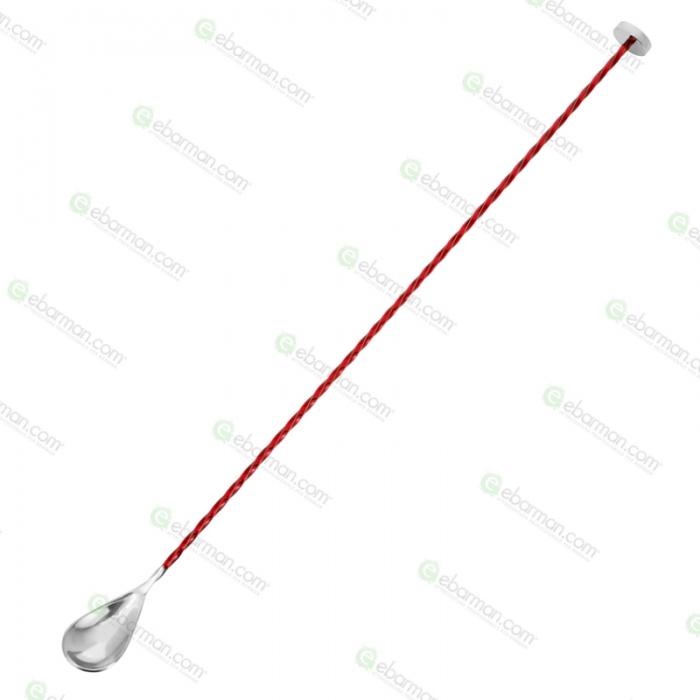 Bar Spoon Bar Spoon Stiff 40 cm Rosso Rubino