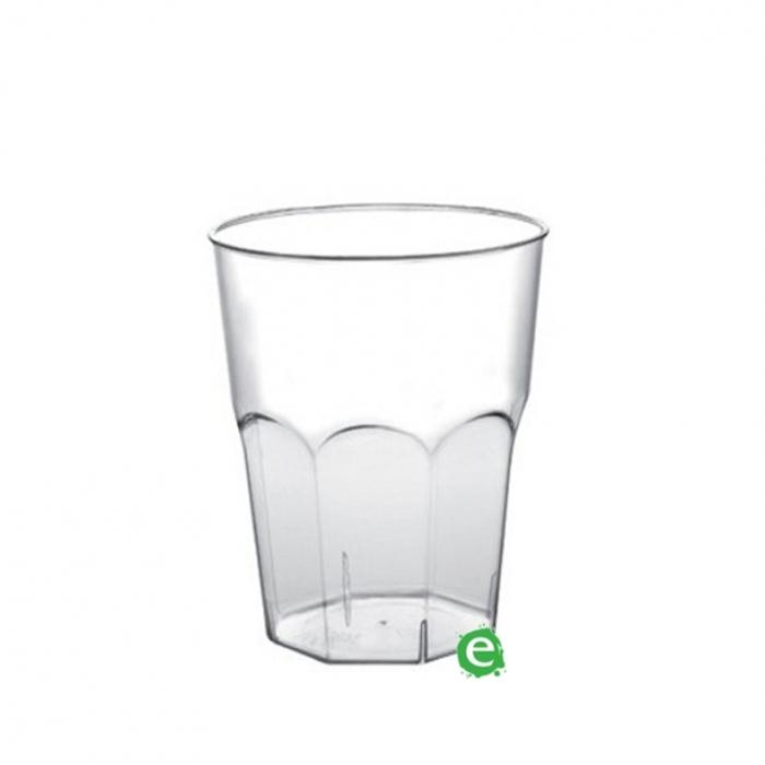 Bicchieri in Plastica Bicchiere monouso Plastica Morbida Isap 310 cc Trasparente