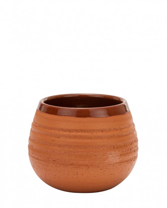 Mug Bicchiere Mug in Terracotta Grezza Canchanchara Horizon 38 cl