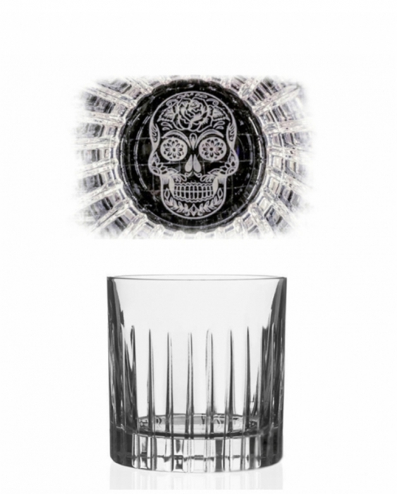Bicchieri RCR Bicchiere Skull Mexican Timeless 31 cl 6pz