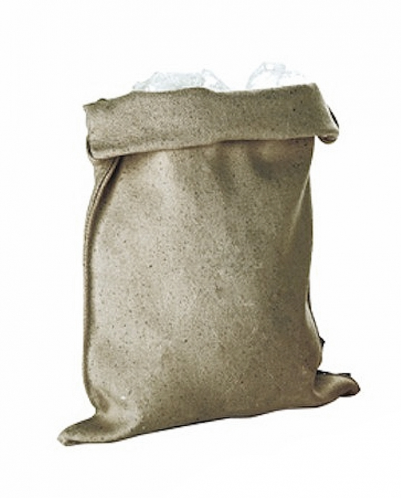 Accessori Ghiaccio Borsa per il ghiaccio in cotone naturale