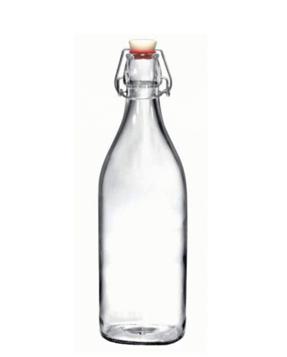 Bitters Bottle Bottiglia in vetro con tappo 1 lt