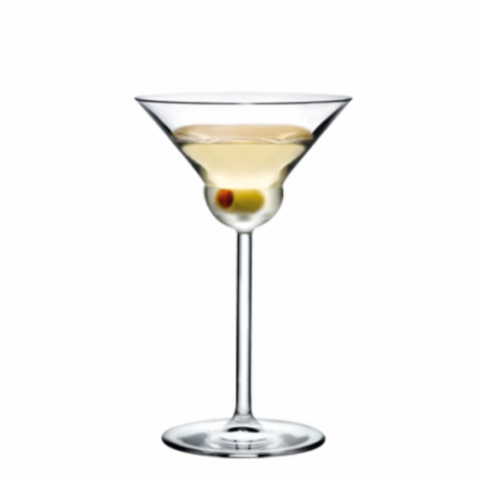 Calice cocktail fusion martini stemware 19 cl 2pz nude for Bicchieri barman