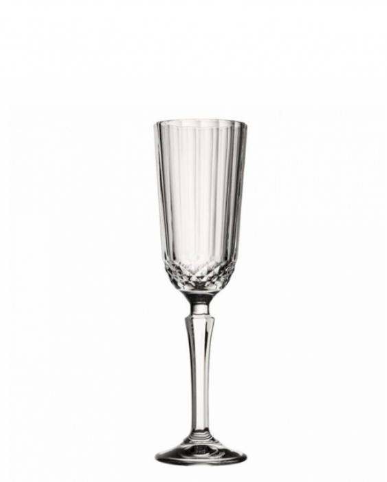 Bicchieri da Vino e Acqua Calice Diony Flute 12,5 cl 6pz