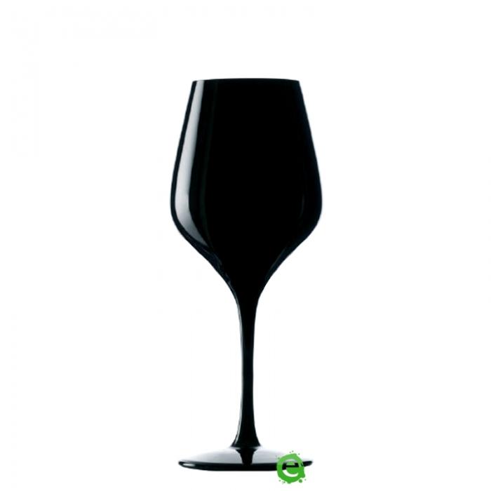Bicchieri da Vino e Acqua Calice Exquisit Stolzle nero 35 cl 6pz