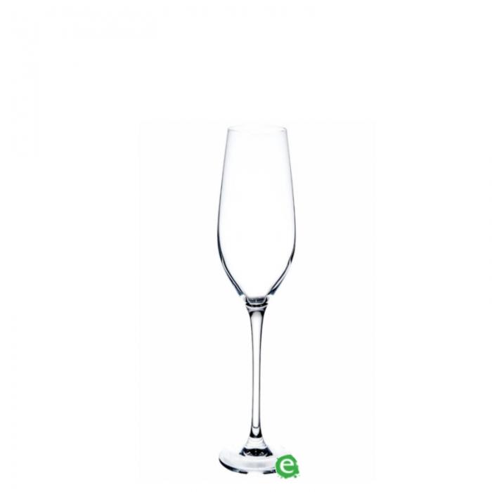 Bicchieri da Vino e Acqua Calice Flute Mineral 16 cl 6pz