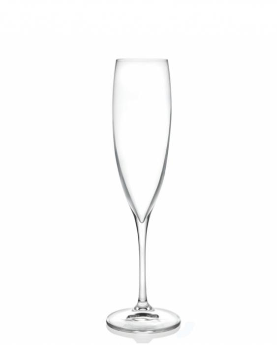 Bicchieri RCR Calice Wine Drop Flute RCR 24,1 cl 6 pezzi