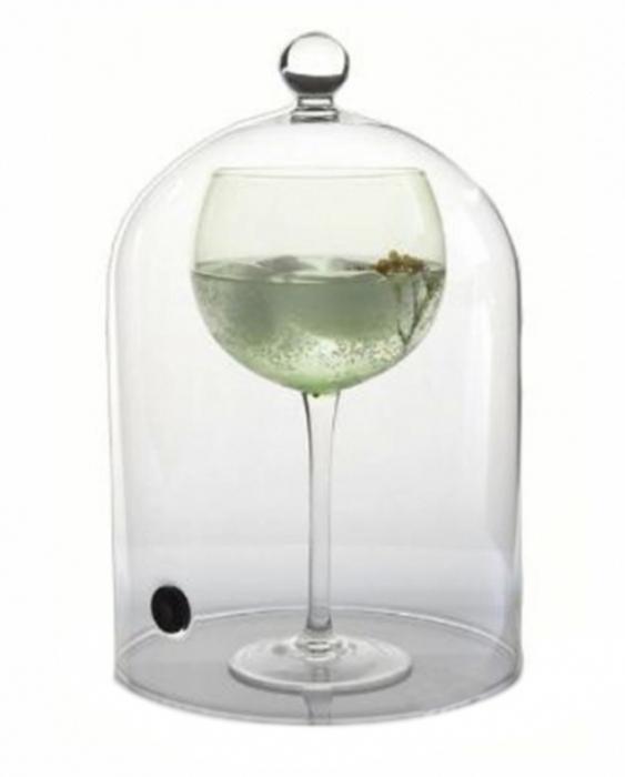 Accessori per Barman Campana per affumicatura cocktails in vetro