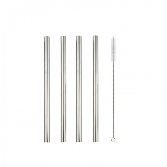 Cannucce e Tovaglioli Cannucce in acciaio 13 cm 4pz