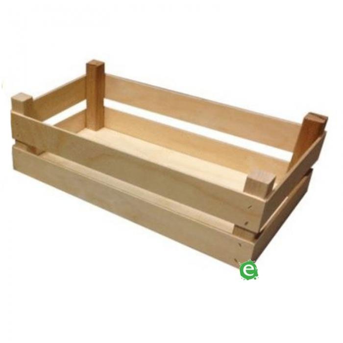 Accessori per Servizio Bar Cassetta in legno 32x17.5x10 cm