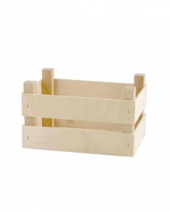 Accessori per Servizio Bar Cassetta in legno porta attrezzatura 20x14x10 cm