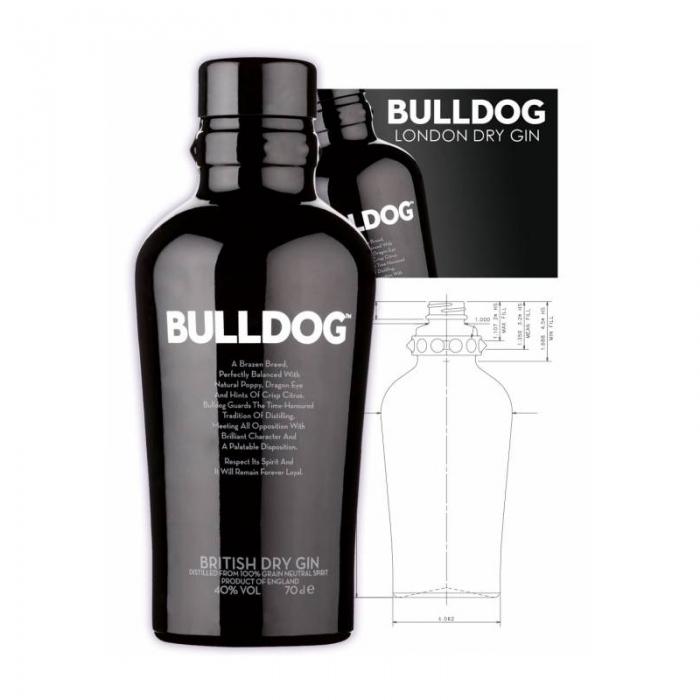 Prodotti Alcolici Gin Bulldog 70 cl