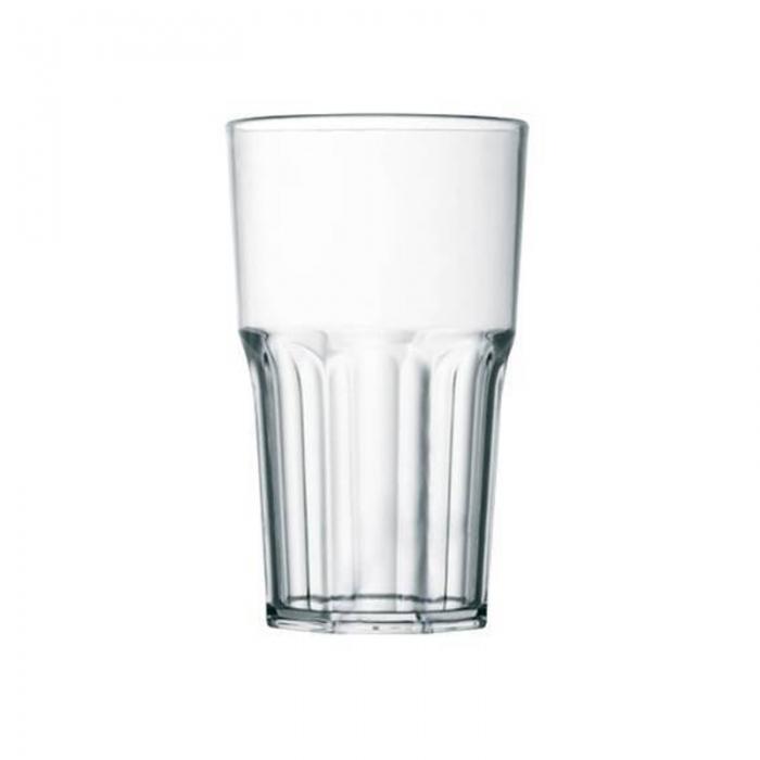 Bicchieri in Plastica Granity 40 cl trasparente 10pz