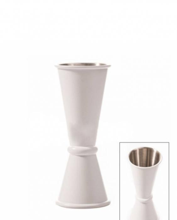 Ultimi in Stock Jigger style japanese 30/45 ml Bianco