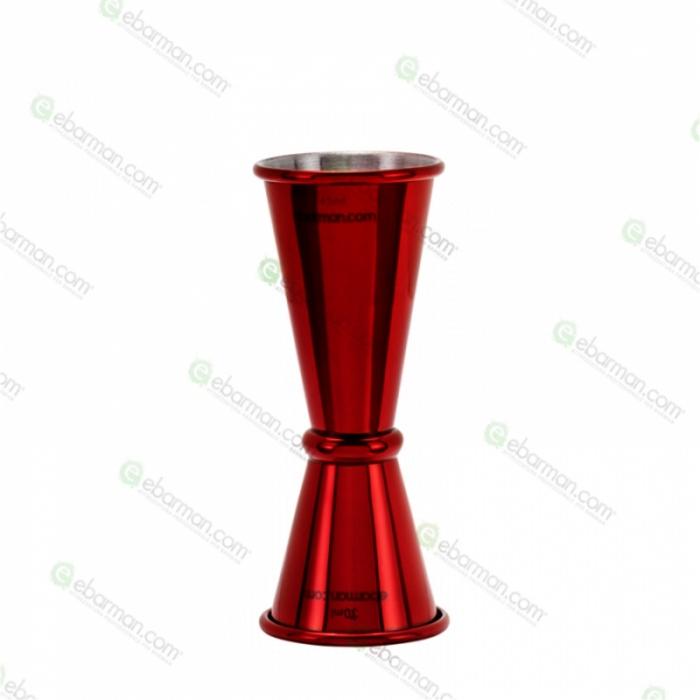Jiggers Jigger style japanese 30/45 ml rosso rubino