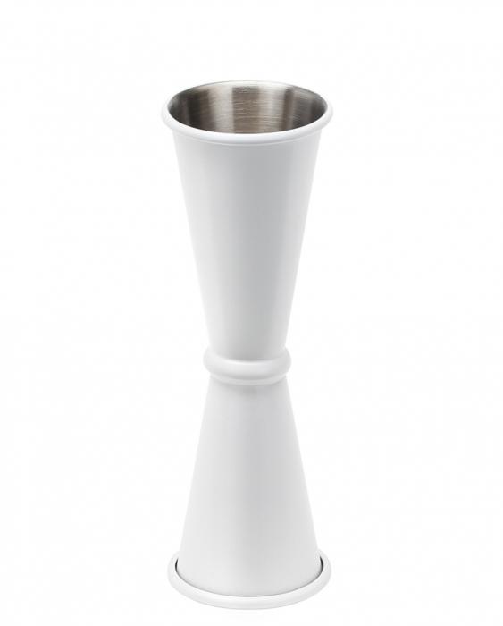 Ultimi in Stock Jigger style japanese 45/50 ml Bianco